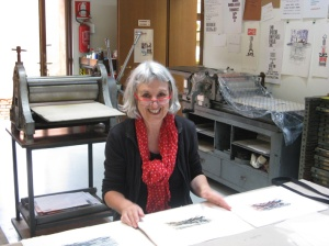 jan with etchings x 3